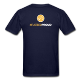 Men's T-Shirt - Flatbed Proud - navy
