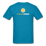 Men's T-Shirt - Flatbed Proud - turquoise