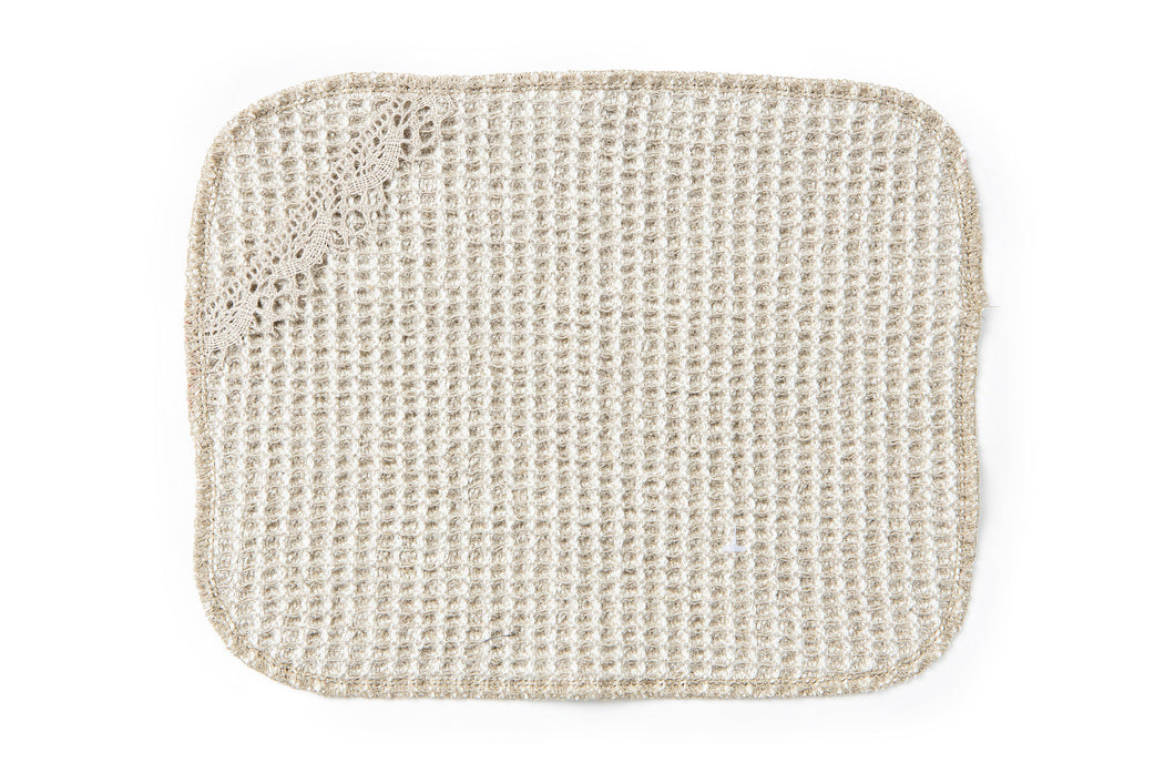HIEKKA 100% Linen Dishcloth