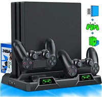 PS4 Stand Cooling Fan for PS4 Slim / PS4 Pro / Playstation 4-thumbnail