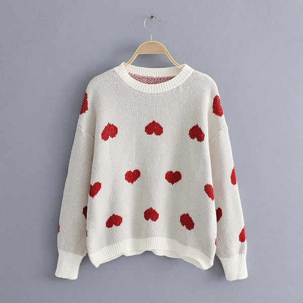 Heart on my Sleeve Sweater