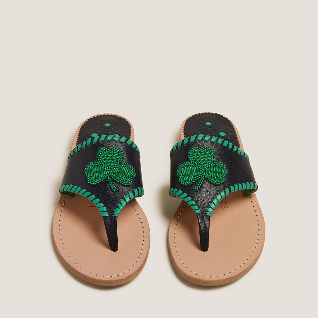 Beaded Shamrock Sandal-SANDALS-Jack Rogers USA