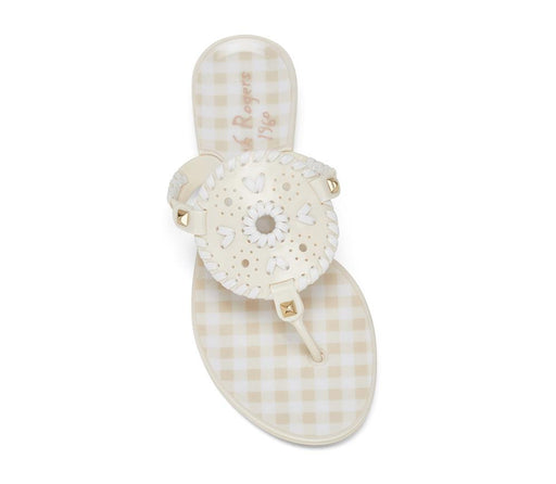 Gingham Georgica Jelly-JELLIES-Jack Rogers USA