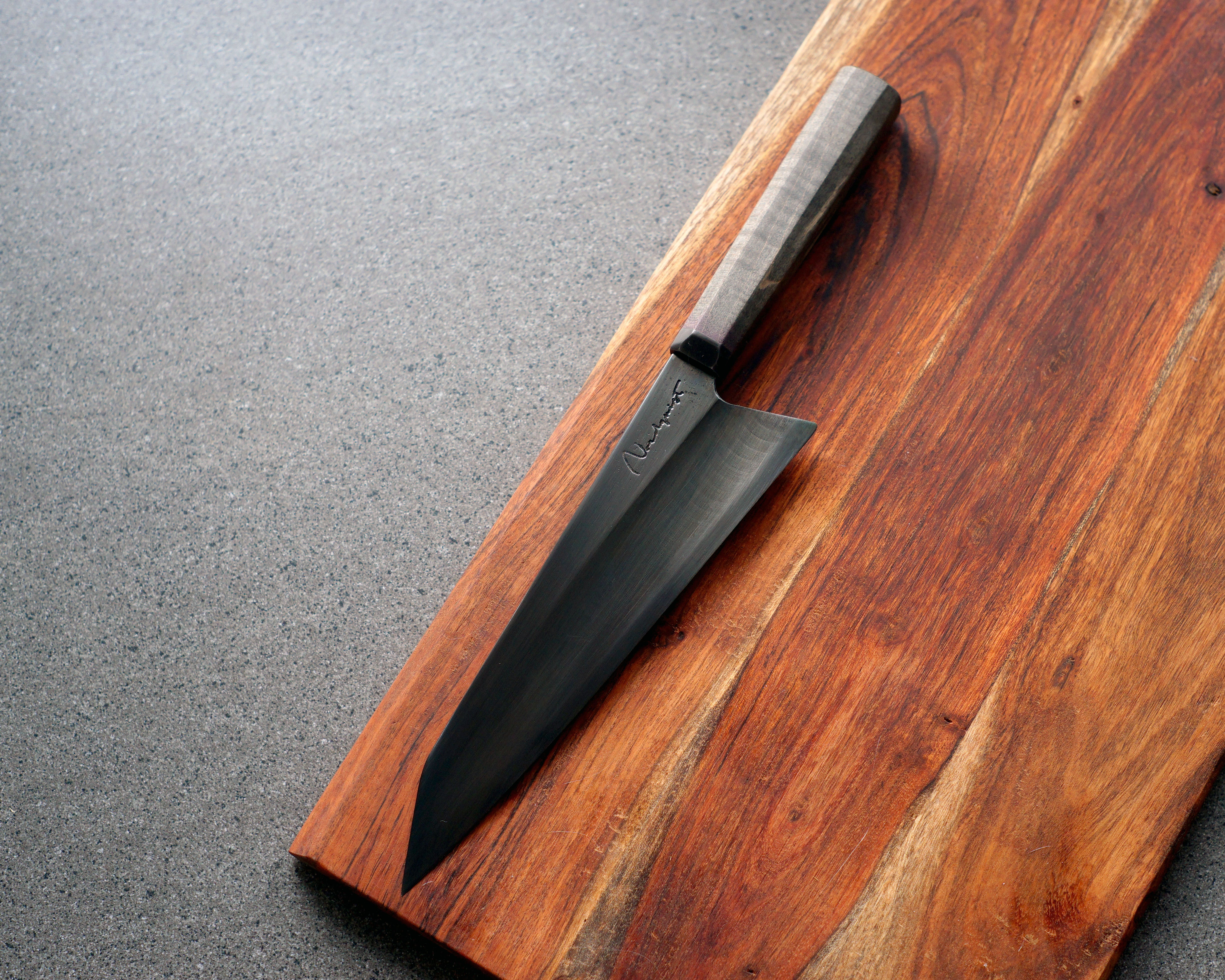 Blacked-Out Gyuto