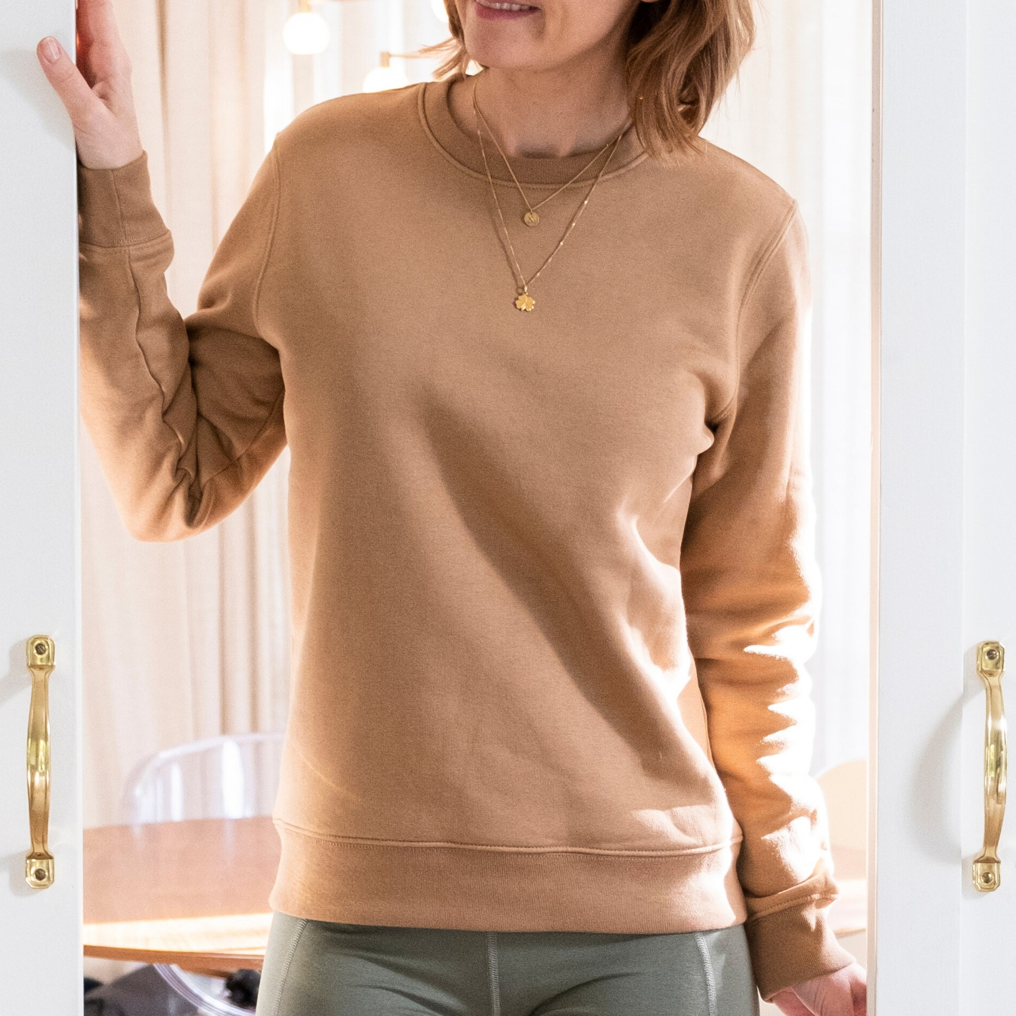 'Reese' camel sweater