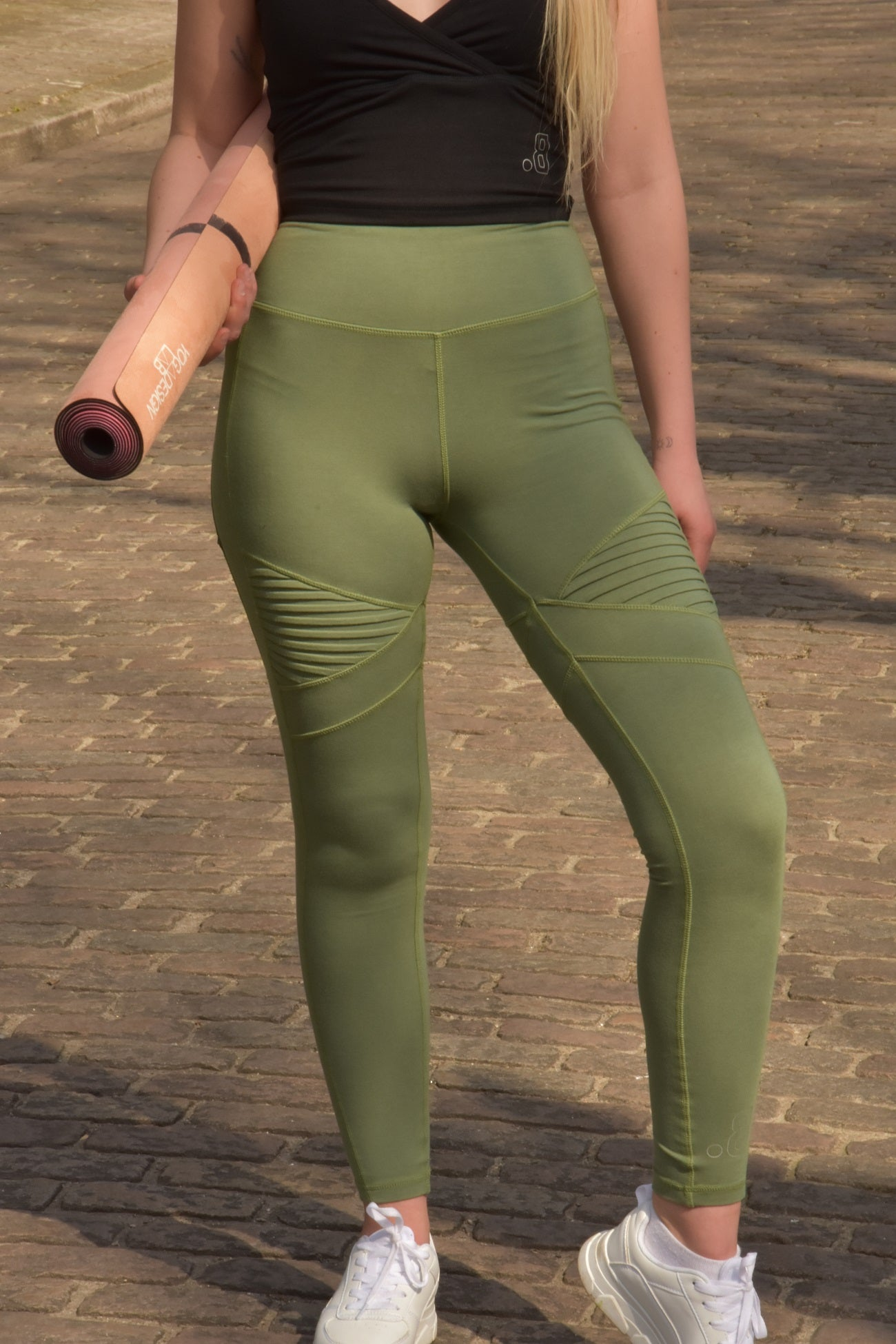 'Isa' pants - green