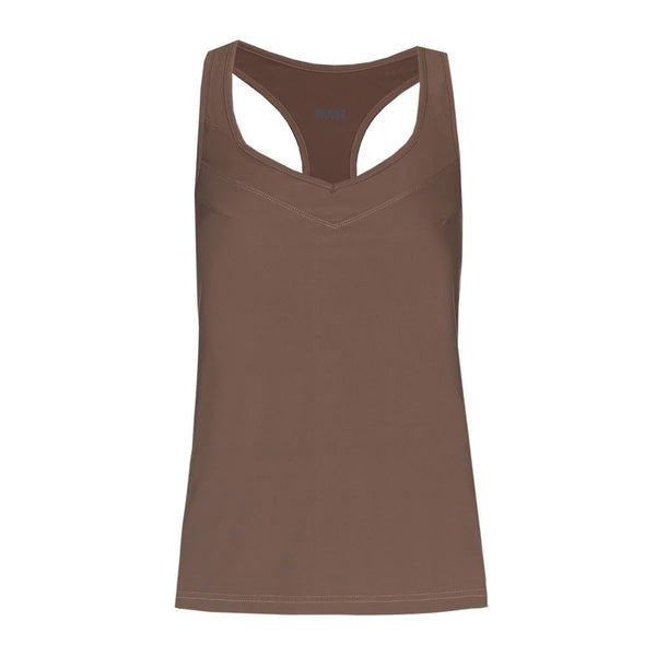 'Leonie' top - taupe
