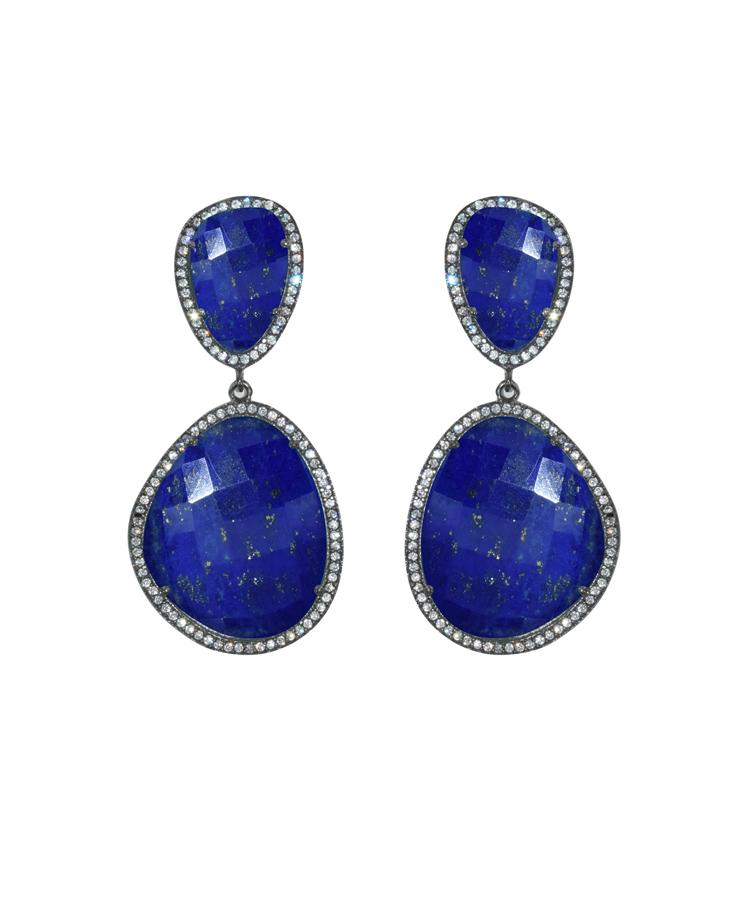 Lapis Drop Earrings
