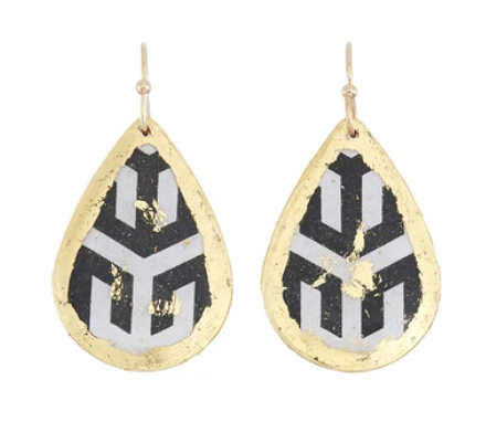 Hera Small Teardrop Earrings by Evocatuer