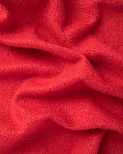 Cashmere scarf- ribbon red