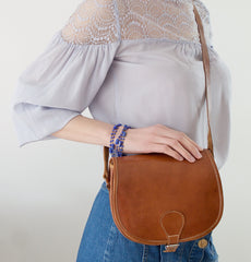Vintage saddlebag