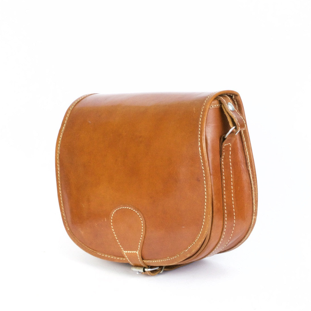 Vintage Tan Leather 37