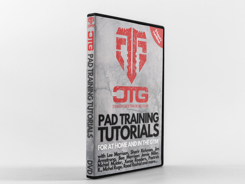 Combatives Training Pad Training Tutorials DVD & Download for at home and in the Gym
