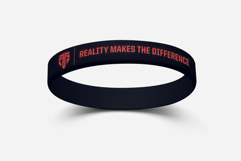 "CTG Wristband ""REALITY MAKES THE DIFFERENCE"""