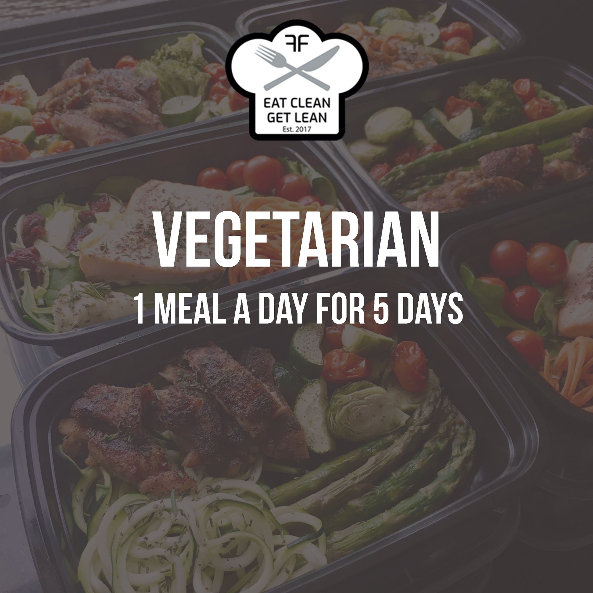 WEEKLY ORDER: 1 Vegetarian Meal a Day for 5 Days