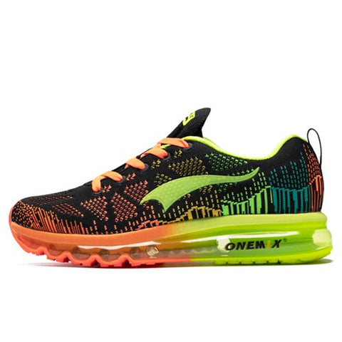 Air cushion running shoes