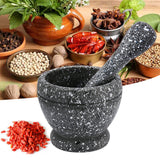 Mortar Pestle Spice Crusher