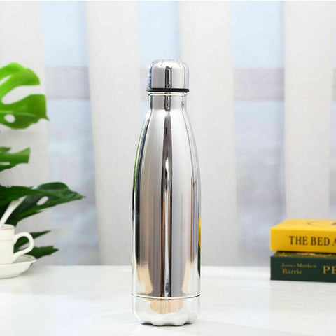 500ml Portable Stainless Steel Water Bottle Double Vacuum Insulated Thermal Sports Gym Bottle Chilly Flask warm Cup Travel Mug