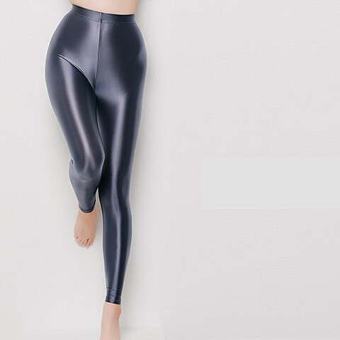 Glossy seamless sexy tight leggings
