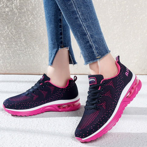 Breathable Mesh Lightweight Air cushion Trainers
