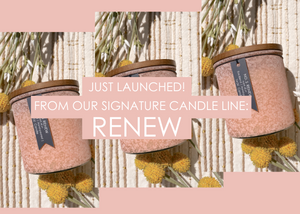 Spring Candle RENEW