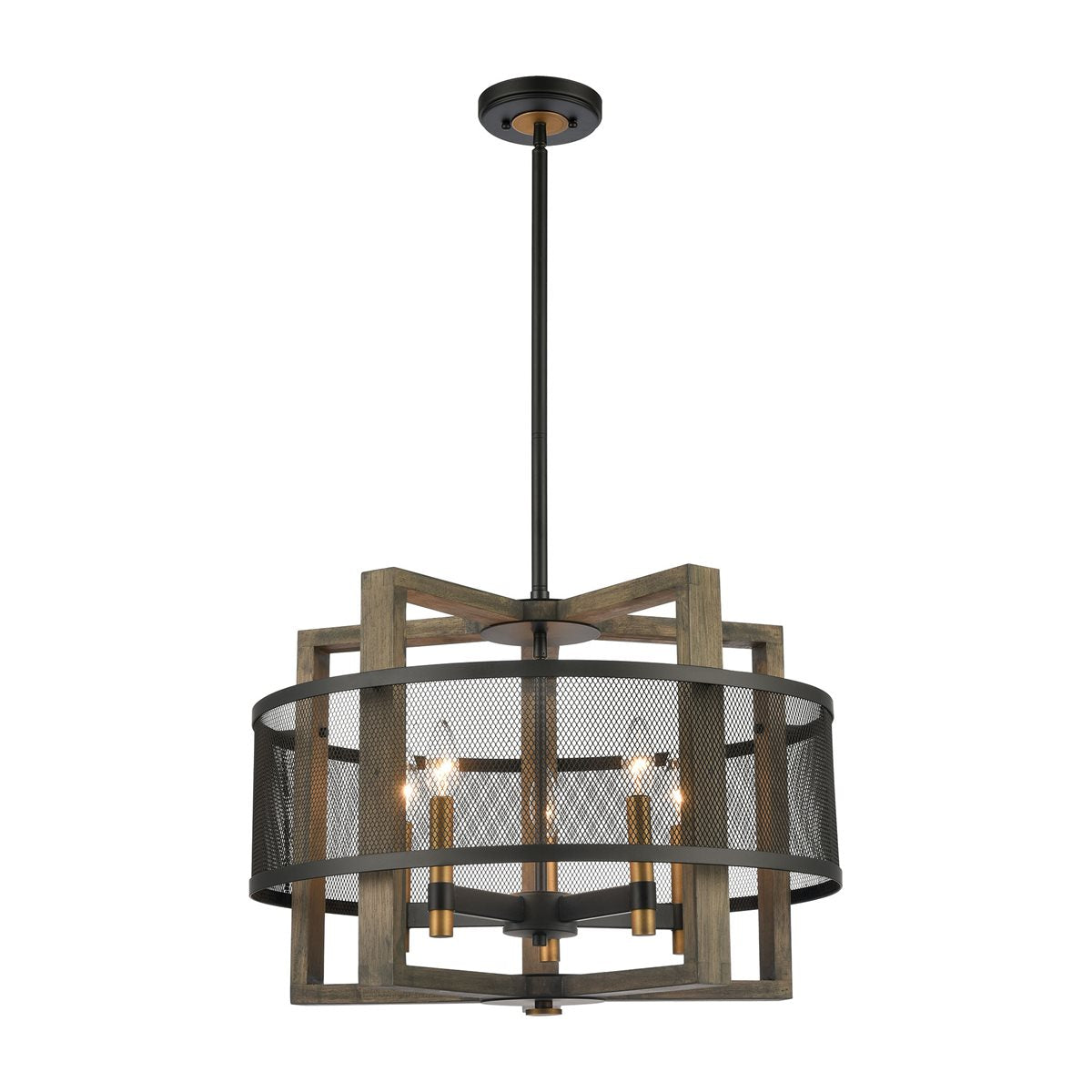 Woodbridge 5-Light Mesh Chandelier