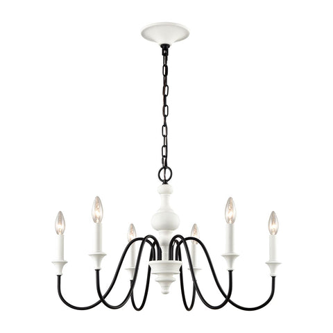 Valerie 6 Light Chandelier
