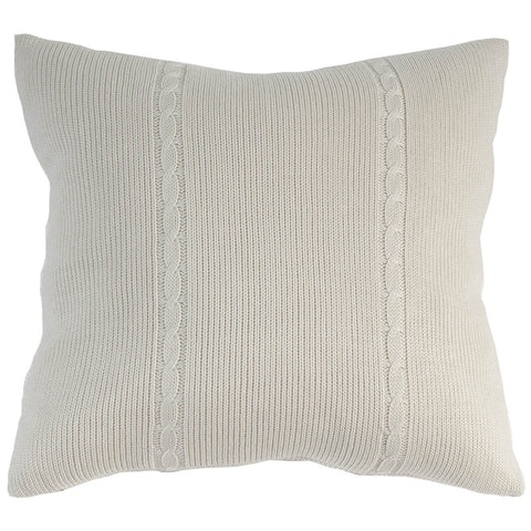 White Sweater Pillow