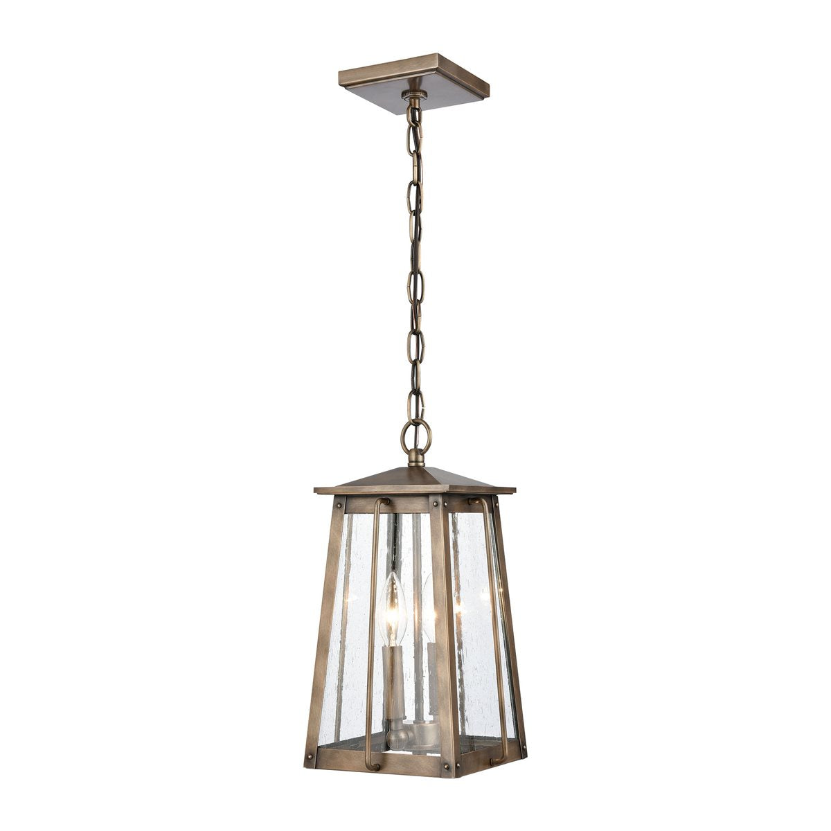 Douglas 2 Light Outdoor Pendant