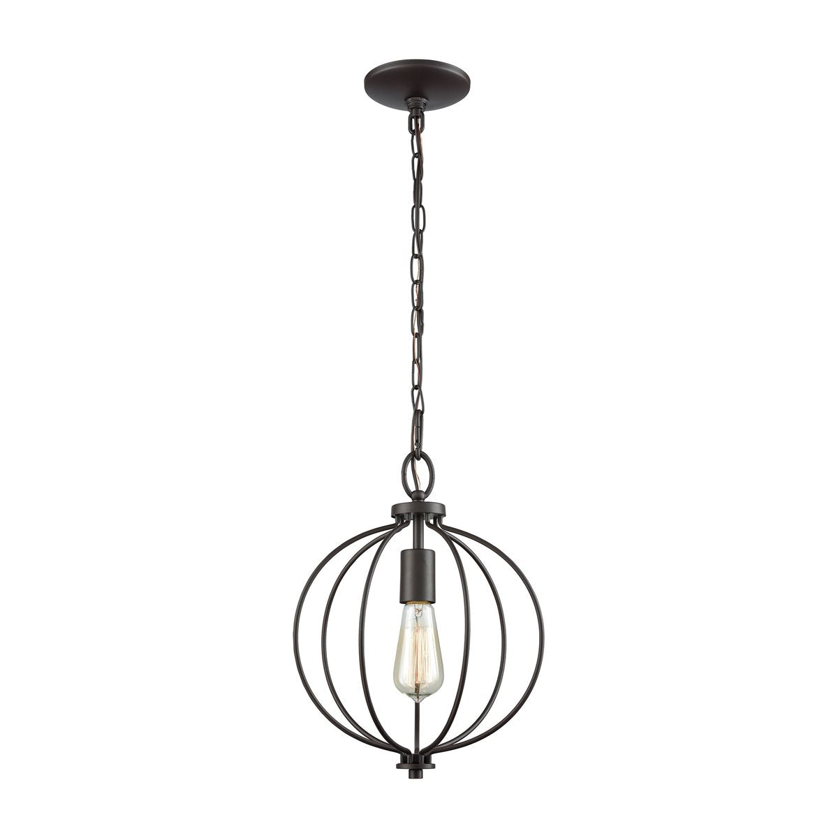Portia 1-Light Round Pendant