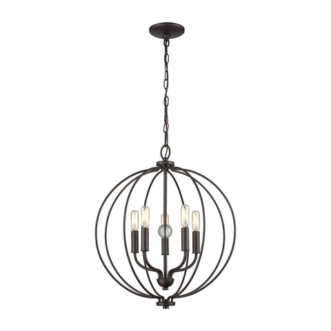 Portia 5-Light Round Chandelier