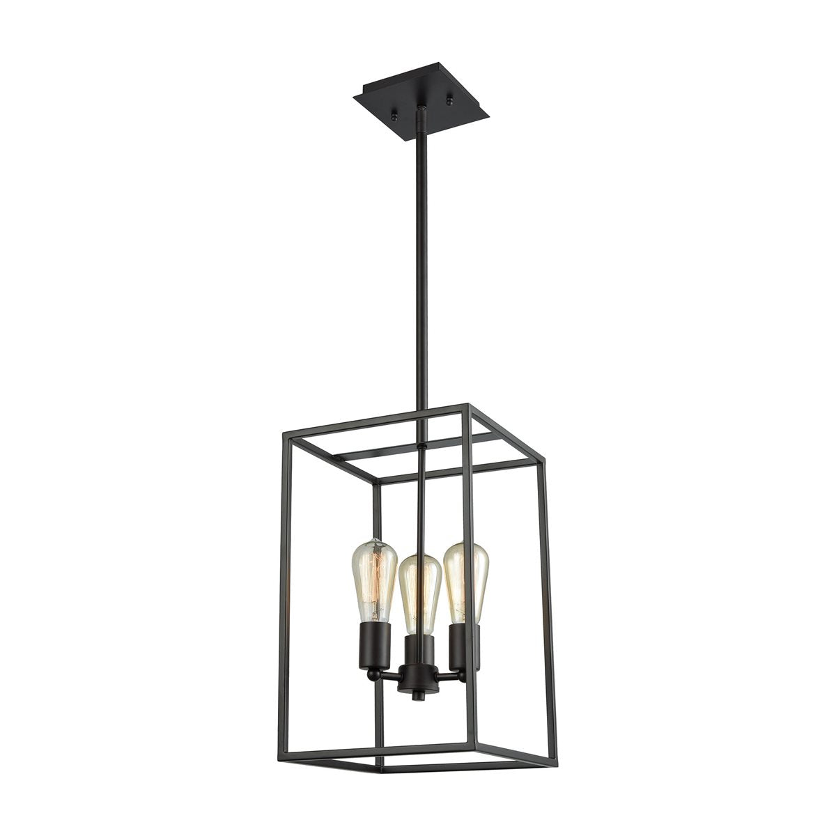 Portia 3-Light Framed Pendant