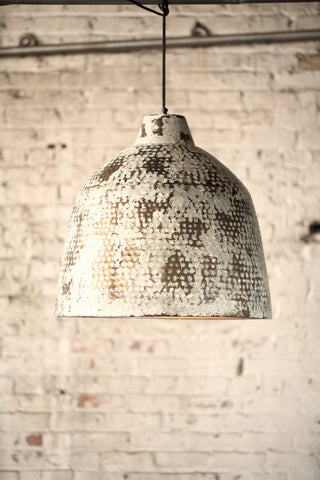 Rustic Metal Pendant Light