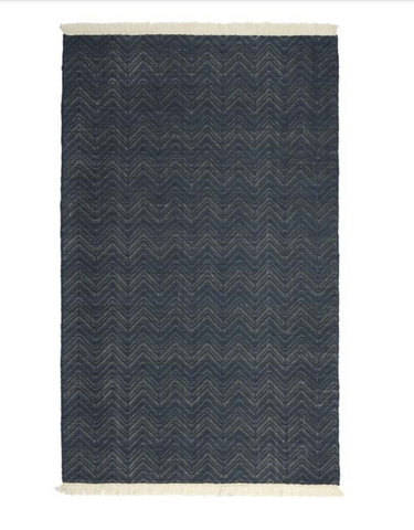 Augusta Indoor/Outdoor Rug, Navy