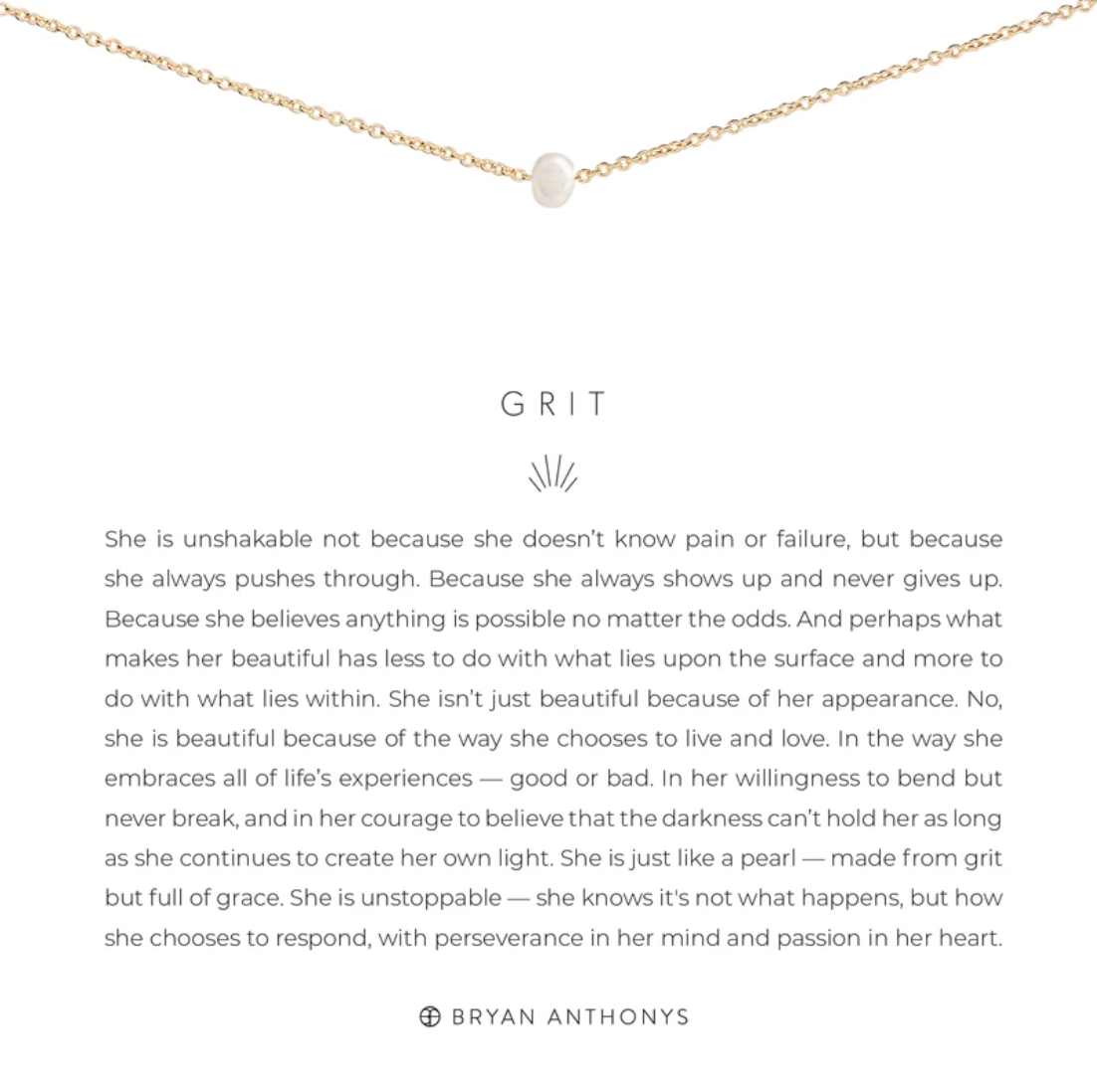Grit Necklace 14K Gold