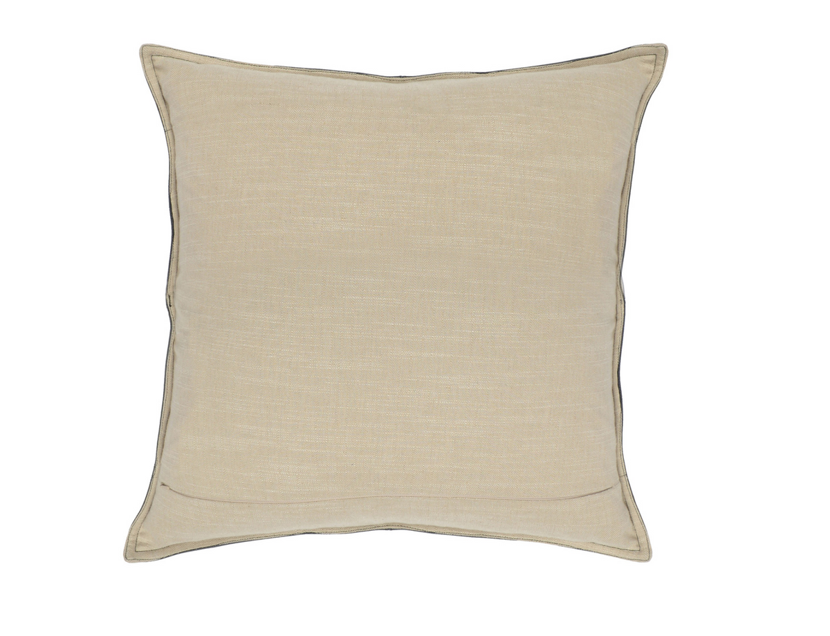 Leather Dexter Onyx Pillow