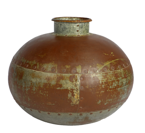 Large Iron Water Pot