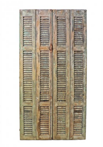 Narrow Shutters / Set of 4