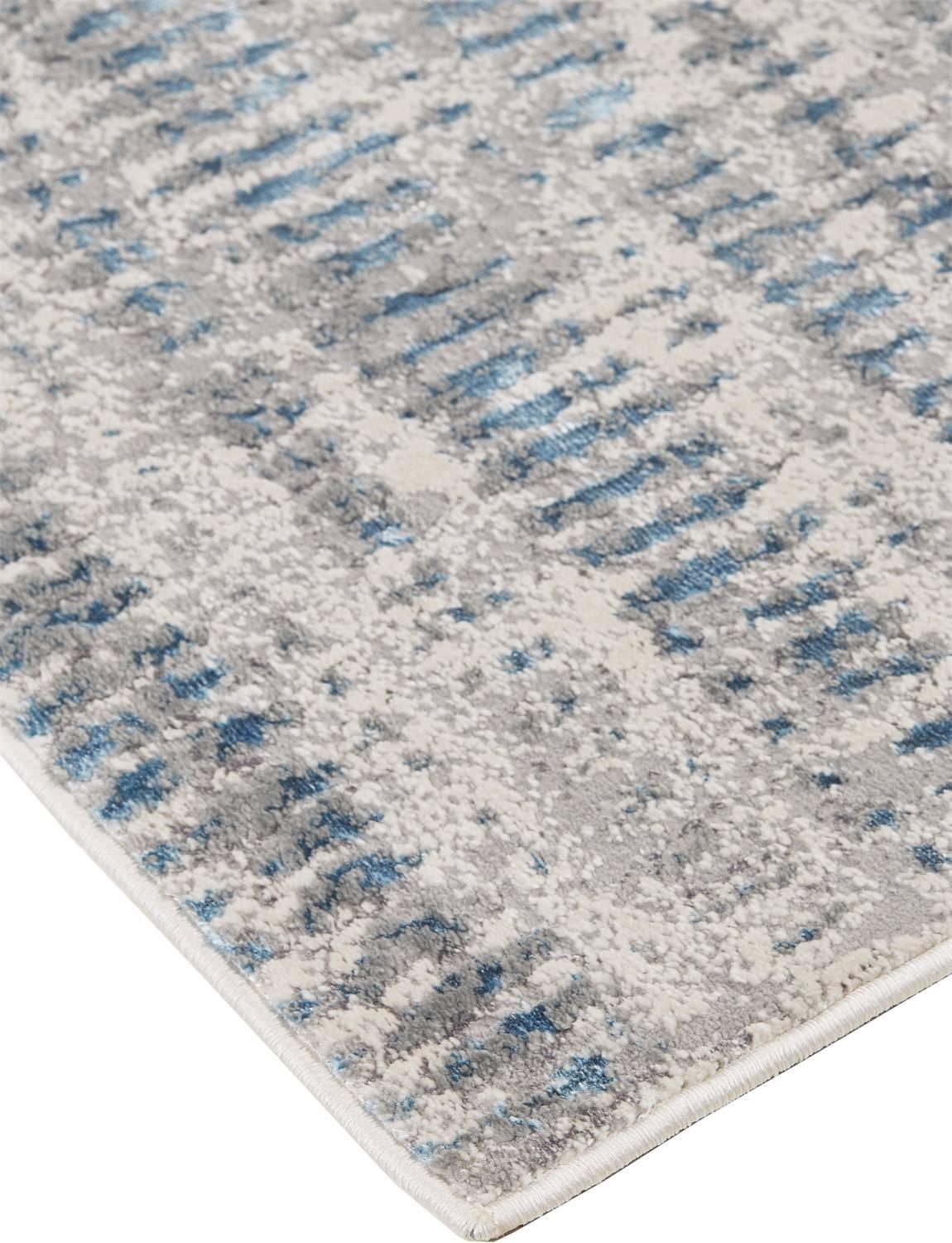 Azure Blue/Gray Rug