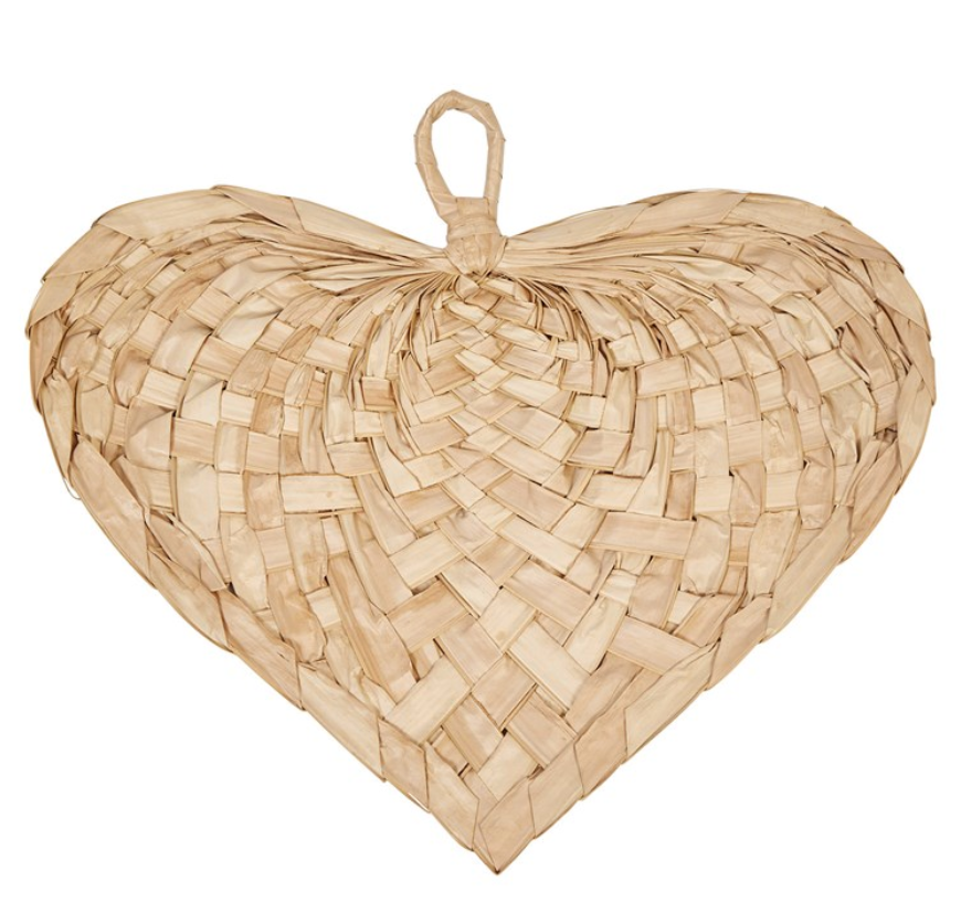 Heart Shaped Palm Fan