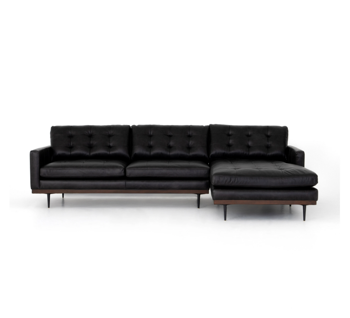 Lexi 2-Piece Leather Sectional