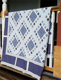 Blue x2 Quilt - FREE project sheet