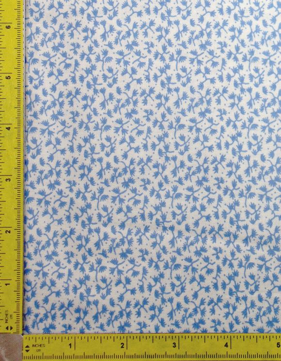 Sky Blue Basic Vine fabric by the yard