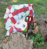 Happy Scrappy Quilt - FREE project sheet