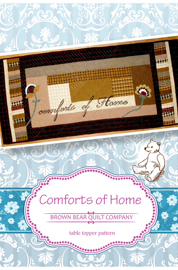 Comforts of Home Table Runner Pattern