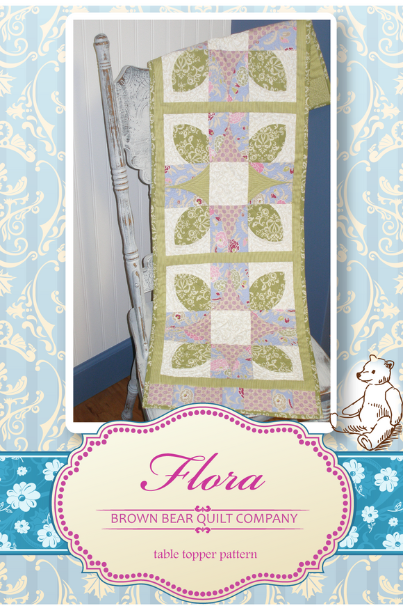 Flora Quilt Pattern - includes table runner and additional sizes