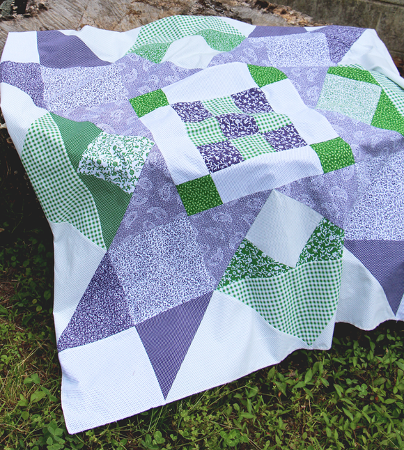 Picnic Star Quilt - FREE project sheet