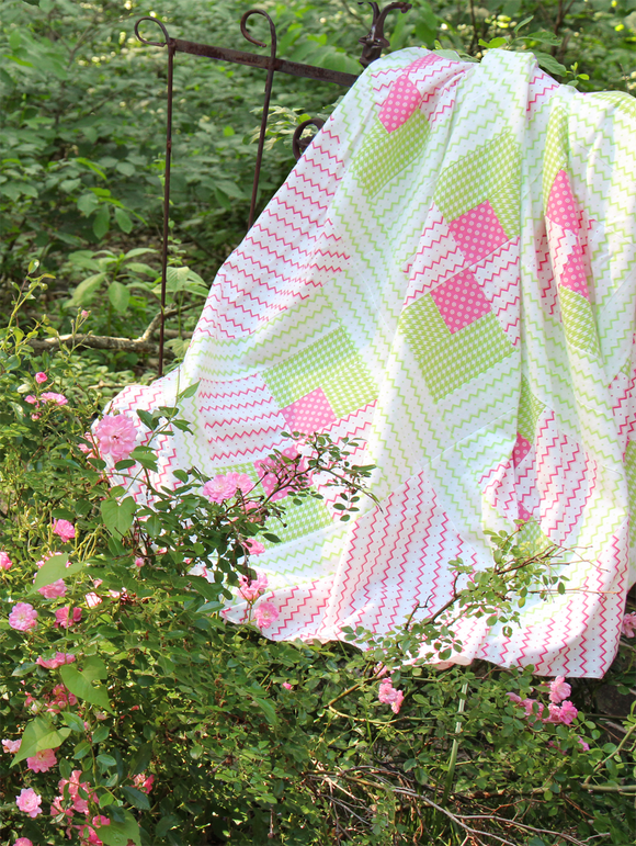 Pink Candy Quilt - FREE project sheet