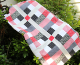 Strips 'n Squares Quilt Kit