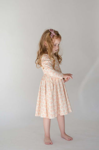 Gwendolyn Dress in Muted Rainbow